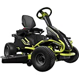 Ryobi 38' Battery Electric Rear Engine Riding Lawn Mower RY48110