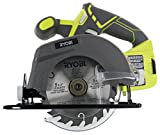 Ryobi One P505 18V Lithium Ion Cordless 5 1/2' 4,700 RPM Circular Saw (Battery Not Included, Power...
