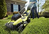 RYOBI 13 in. ONE+ 18-Volt Lithium-Ion Cordless Battery Walk Behind Push Lawn Mower - 4.0 Ah...
